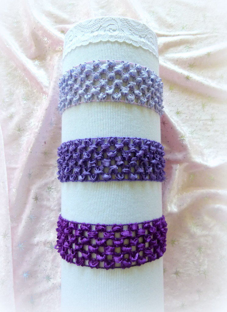 Headbands -Purples
