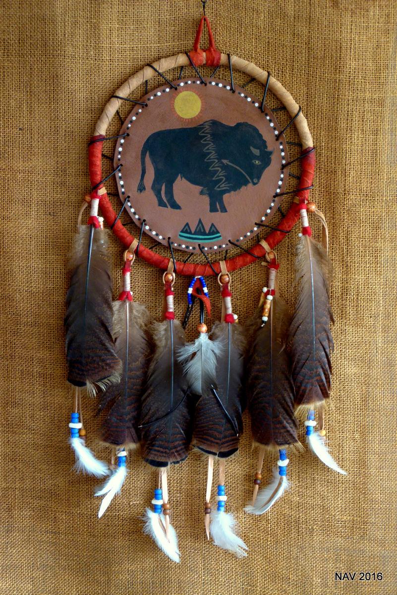 #7 – 10″ Sacred Bison