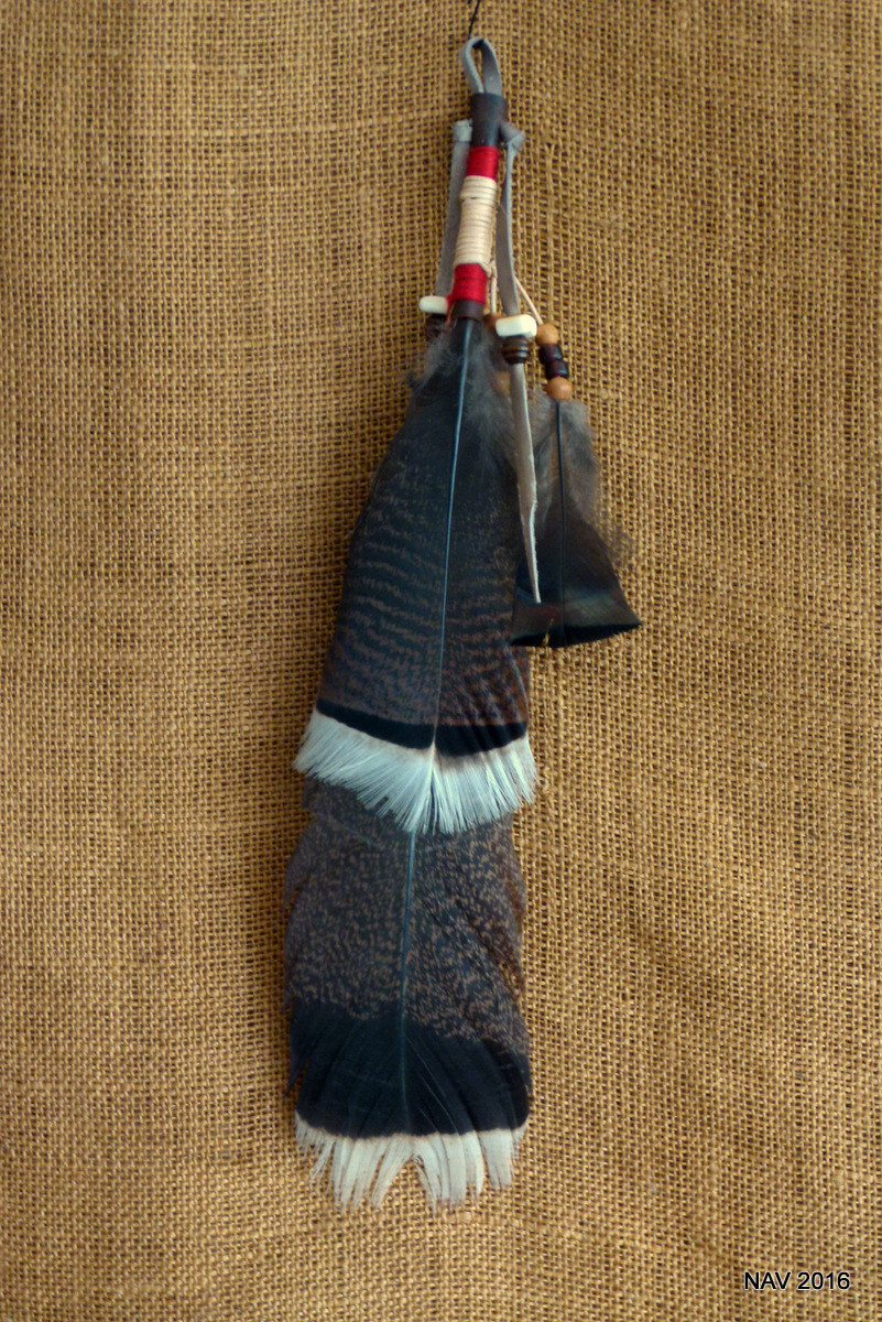 Smudge Feather Lrg
