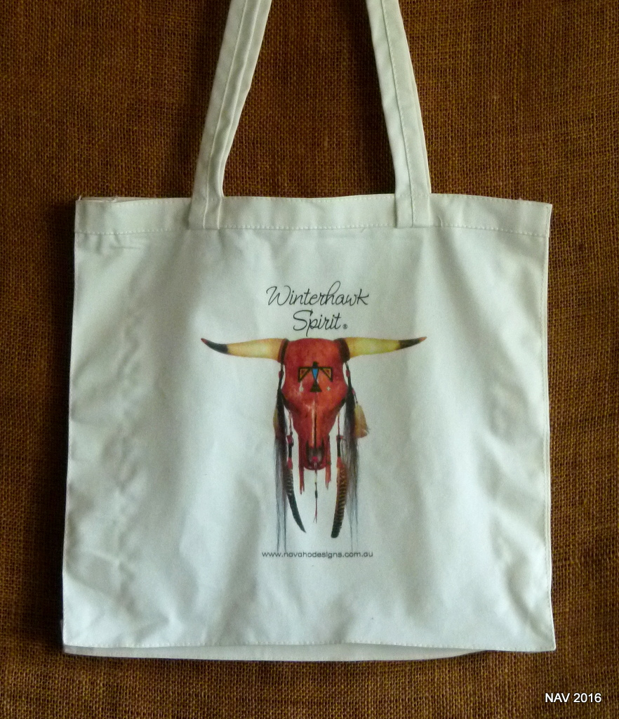 Tote Bag Cow Skull