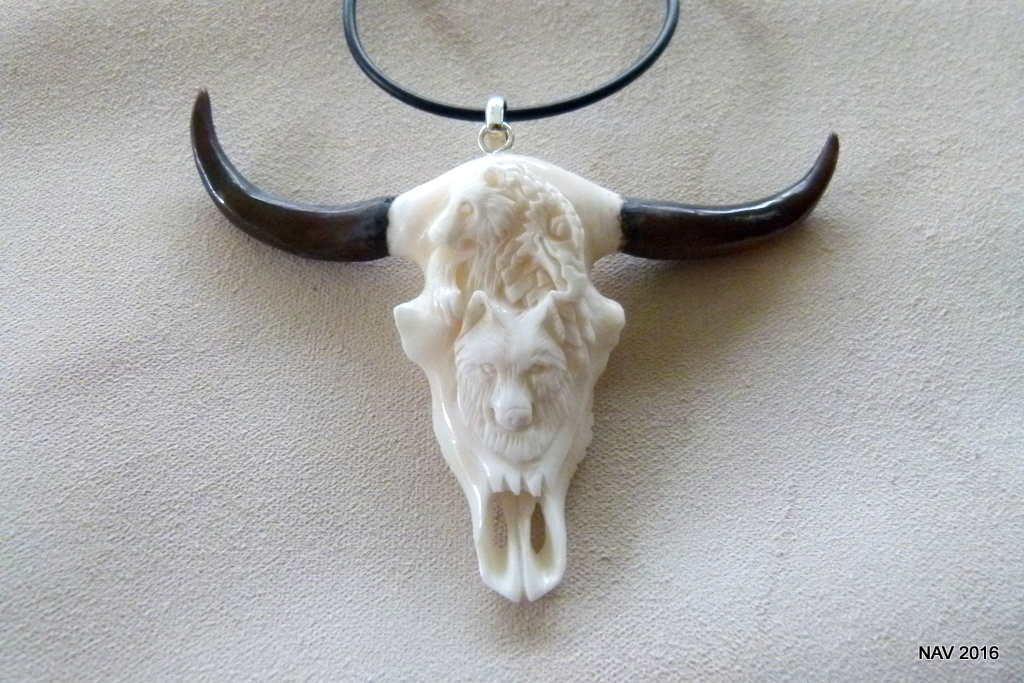 Cow Skull Pendant