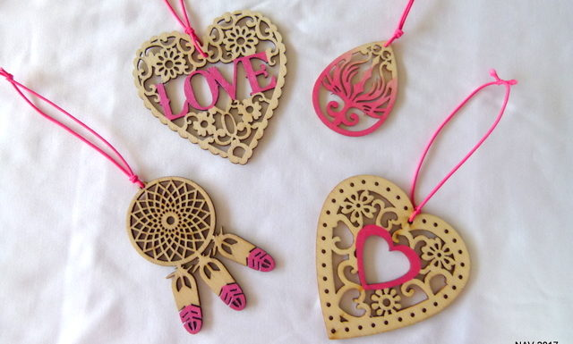 Scented Wooden Shapes